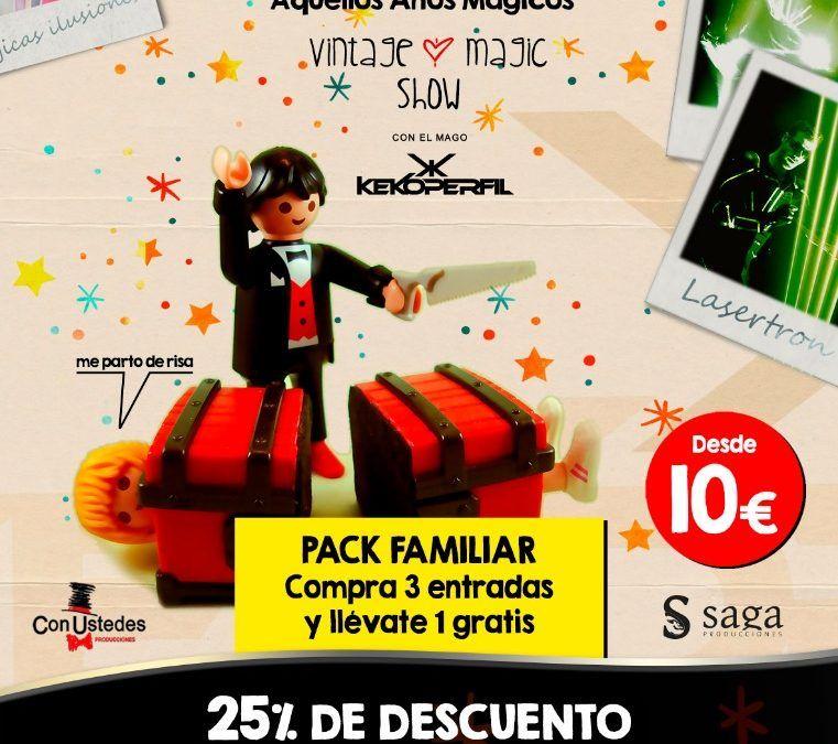 Venta de entradas para Tachán, aquellos años mágicos. Teatro Castelar, Elda.