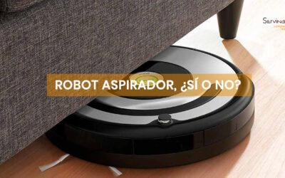 Robot aspirador, ¿sí o no?
