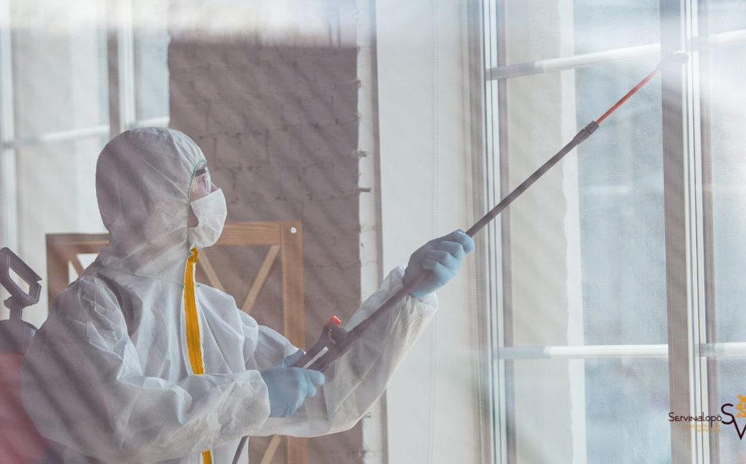 Desinfectar un puesto de trabajo en Elda y Petrer en época de Coronavirus