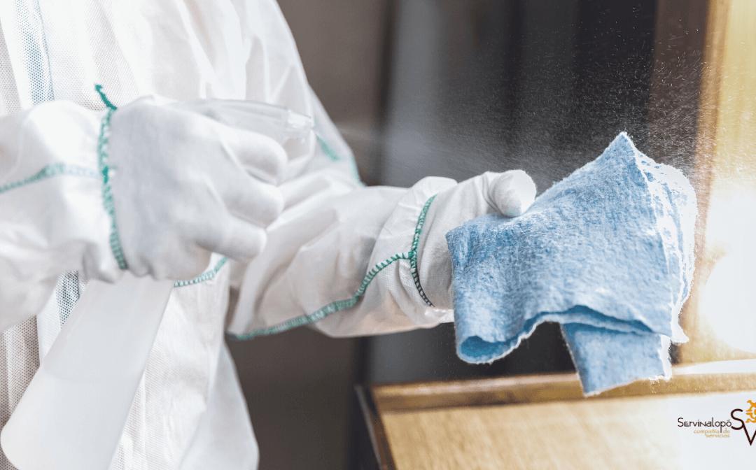 Limpieza y desinfección en Navidades