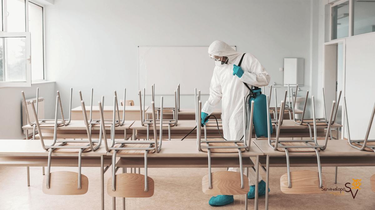 Limpieza de colegios y guarderías en Alicante