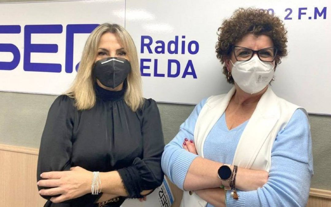 Maribel Requena ha visitado Radio Elda