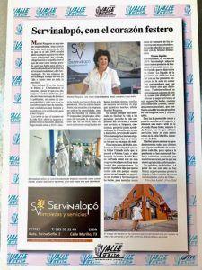 Entrevista a Maribel en el Valle de Elda