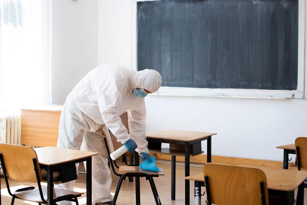 Servinalopó, limpieza y desinfección de aulas para centros de educación